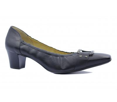 Туфли Peter Kaiser кожаные черные 44437-087
