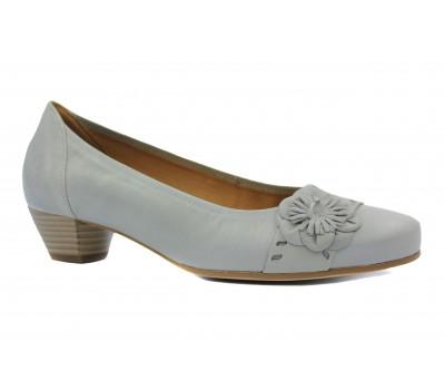 Туфли Gabor кожаные серые 46152