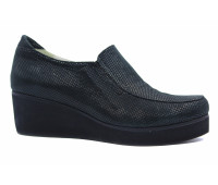 Демисезонные туфли  Tuffoni из крека черные