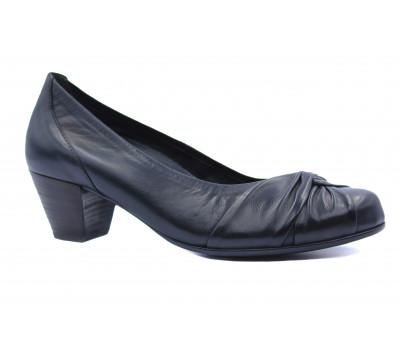Модельные туфли Gabor кожаные черные 76123