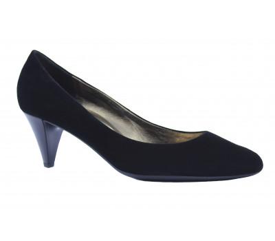 Модельные туфли Hogl замшевые черные 7-105802
