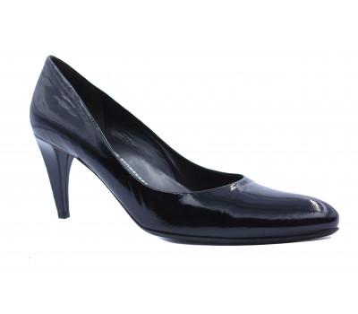 Модельные туфли K&S из лакированной кожи черные 78180-590