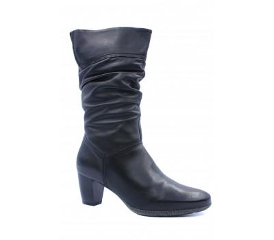 Зимние полусапоги   Ara кожаные черные 63453-88