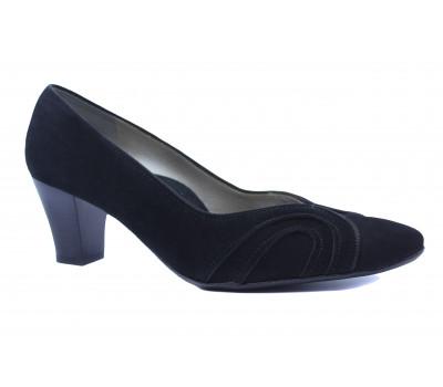 Туфли Ara замшевые черные 32802-06