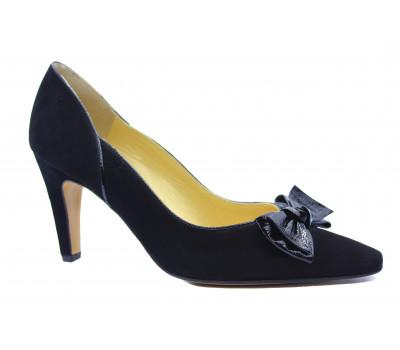 Модельные туфли Peter Kaiser замшевые черные 74555-735