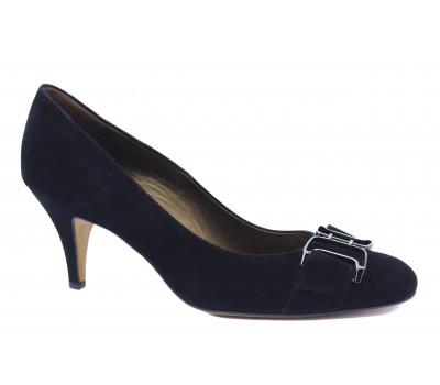 Модельные туфли Peter Kaiser замшевые черные 71337-445