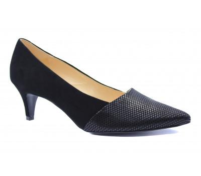 Модельные туфли Peter Kaiser из крека черные 55131-865