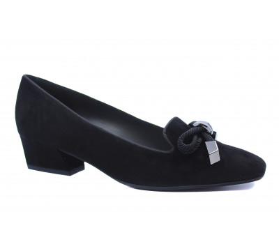 Туфли Peter Kaiser замшевые черные 26847-240