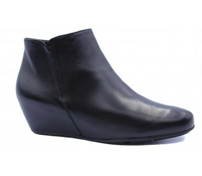 Ботильоны Hogl кожаные черные 8-104210