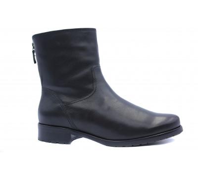 Зимние ботильоны Gabor кожаные черные 91560