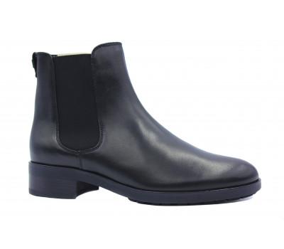 Ботильоны Hogl кожаные черные