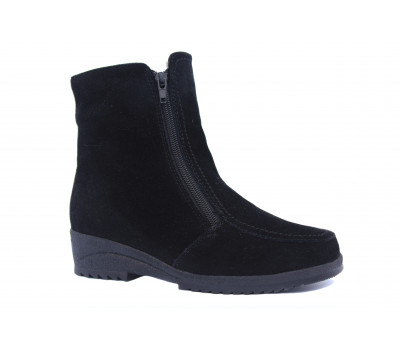 Ботильоры зимние Ara замшевые черные 48103-05