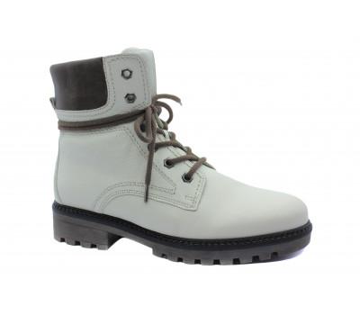Зимние ботинки Gabor кожаные белые 91810.94