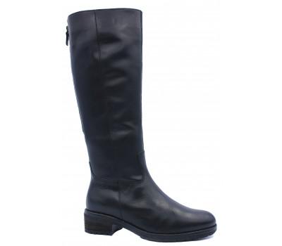 Зимние сапоги Gabor кожаные черные 91615