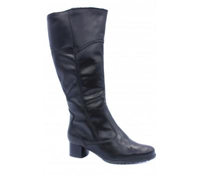 Сапоги зимние ARA  кожаные черные 42221-61