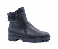 Зимние ботильоны  Ara кожаные черные