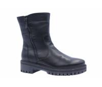 Зимние полусапоги  Ara кожаные черные