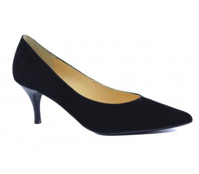 Модельные туфли Hogl замшевые черные
