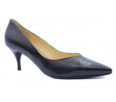 Модельные туфли Hogl кожаные черные 0-126000