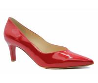 Модельные туфли Hogl из лакированной кожи красные