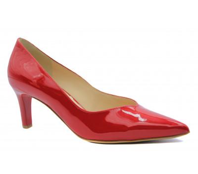 Модельные туфли Hogl из лакированной кожи красные 0-186724