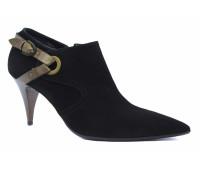 Демисезонные туфли Alba замшевые черные