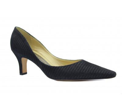 Модельные туфли Peter Kaiser из крека черные 66741-313