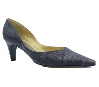 Модельные туфли Peter Kaiser кожаные серые 67741-430