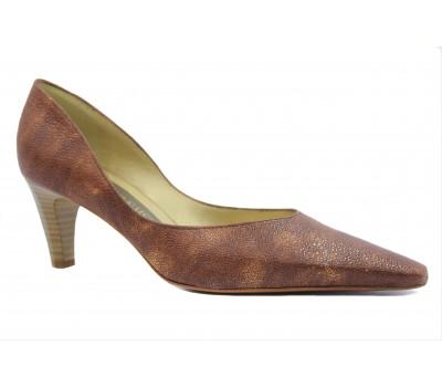 Модельные туфли Peter Kaiser кожаные коричневые 67741-433
