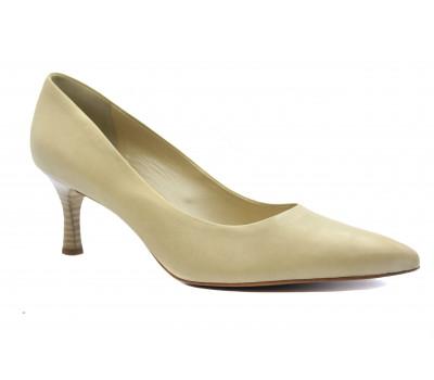 Модельные туфли Peter Kaiser кожаные бежевые 61101-063