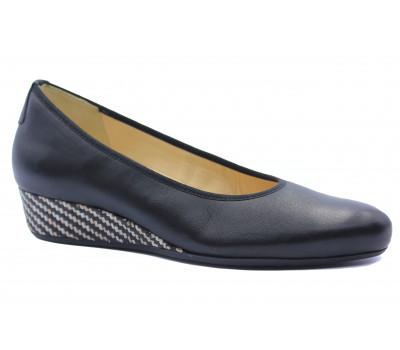 Туфли Hassia кожаные черные 5-302100