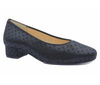 Модельные туфли Hassia черные из крека