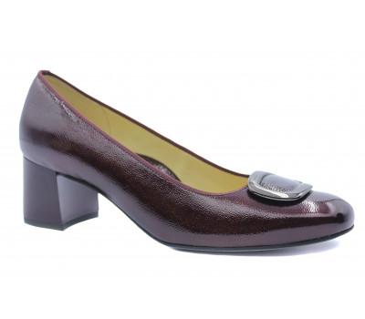Туфли Ara из лакированной кожи бордо