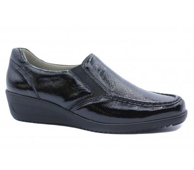Туфли  Ara из лакированной кожи черные