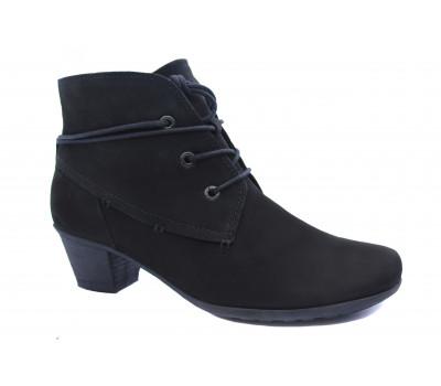 Ботинки Gabor из нубука черные 34690