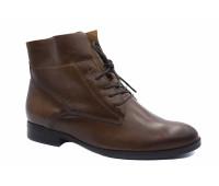 Демисезонные ботинки Gabor кожаные коричневые