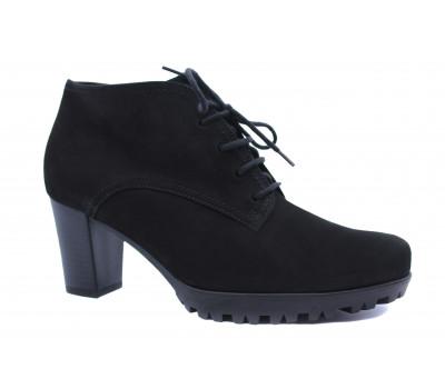 Зимние ботинки Gabor из нубука черные 52865.90