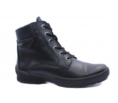 Ботинки Gabor кожаные черные 53810