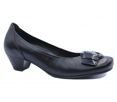Туфли Gabor кожаные черные 76184