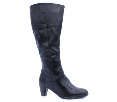 Демисезонные сапоги Ara кожаные черные 43413-71