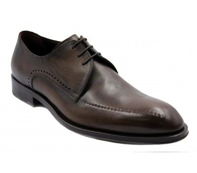 Туфли ROMIT HAND MADE кожаные темно-коричневые 10144