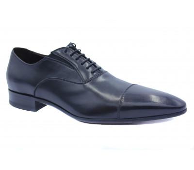 Туфли ROMIT кожаные черные 10539