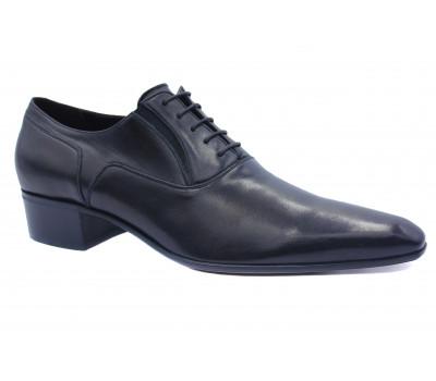 Туфли ROMIT кожаные черные 11079\1