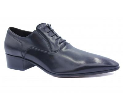 Туфли ROMIT кожаные черные 11079