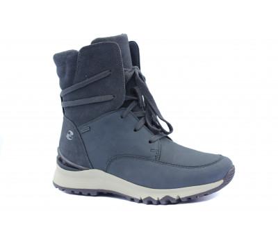 Ботинки Gabor из нубука серые с gore-tex мембраной 94364.10