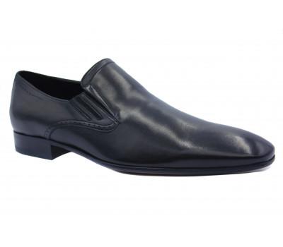 Туфли ROMIT  кожаные черные 10914