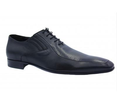 Туфли ROMIT кожаные черные 10931\1