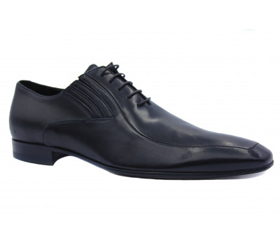 Туфли ROMIT кожаные черные 10931