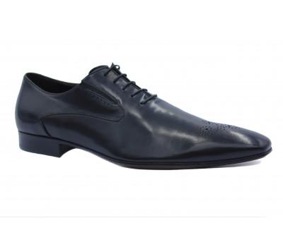 Туфли ROMIT кожаные черные 10376