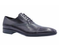 Демисезонные  туфли ROMIT кожаные бордовые